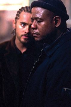Still of Jared Leto and Forest Whitaker in Panic Room