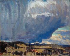 Tom Thomson - Approaching Snowstorm - Canada, Canadian Oil Painting - Group of Seven Art Print by ArtExpression - X-Small Group Of Seven Art, Group Of Seven Paintings, Canadian Painters, Canadian Artists, Landscape Art, Landscape Paintings, Landscapes, Abstract Paintings, Emily Carr Paintings