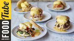 mouth is watering.  Eggs Benedict | 5 Ways | Jamie Oliver