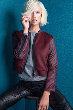 Snesha B - Call List Leather Jacket, Jackets, Fashion, Studded Leather Jacket, Down Jackets, Moda, La Mode, Leather Jackets, Fasion