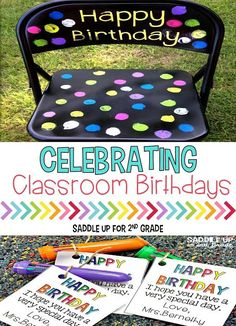Celebrating classroom birthdays can be such a special time. Come see how my classroom celebrates and grab a FREE printable too!