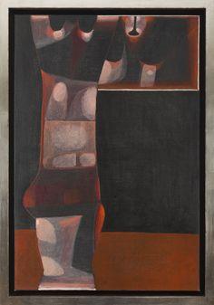 Jerzy Nowosielski - Akt z lustrem, 1973 r.