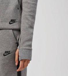 Nike Tech Fleece Hoody Tumbled Grey
