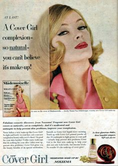 Vintage advertisements from the to I keep my vintage books hereI also hang out at Palace. Retro Advertising, Vintage Advertisements, Vintage Ads, Retro Ads, Uma Thurman, Beauty Ad, Clean Beauty, Beauty Products, Vintage Makeup