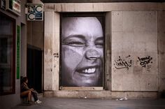 Street Art; JR