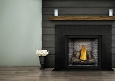 Buy Napoleon Vector Modern Gas Fireplace Linear Direct Vent 62 inch Large Big at online store Fireplace Blower, Fireplace Fan, Direct Vent Gas Fireplace, Fireplace Design, Napoleon Gas Fireplace, Kozy Heat, Fireplace Showroom, Radiant Heaters, Air Conditioning Installation