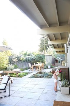 Our Home tour: Backyard