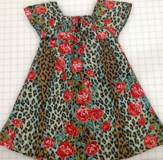 Easy Kid Dress Sewing Tutorial and Pattern age 3 - 6