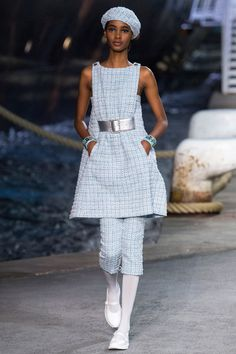 Chanel Resort 2019 #Chanel #fashionphotography #fashion #fashionbloggers by Vogue Runway