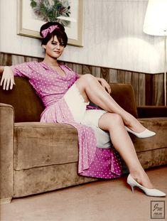 Photo of claudia for fans of Claudia Cardinale 27399827 Claudia Cardinale, Brigitte Bardot, Vintage Beauty, Vintage Fashion, Vintage Clothing, Retro Fashion, Luchino Visconti, Photographie Portrait Inspiration, Famous Pictures
