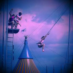 Trapeze #circus #photography #montreal