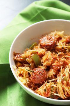Spaghetti Squash Jambalaya | Good Cheap Eats