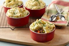 Classic Shepherd's Pie! With all the hearty goodness you remember from your childhood, but with a touch of AE real sour cream dip for extra creaminess and flavor.