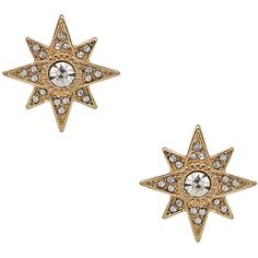 Blu Bijoux Starburst Stud Earrings ($26) ❤ liked on Polyvore featuring jewelry, earrings, blu bijoux jewelry, earring jewelry, glitter jewelry, glitter stud earrings and blu bijoux