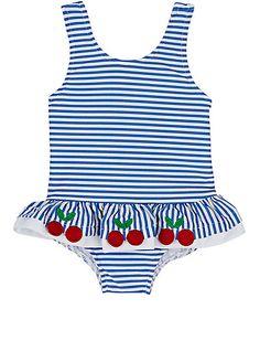 02e6fd69bc Florence Eiseman Striped One-Piece Swimsuit - Kid - 504905460 Girls Swimming,  Kids Swimwear