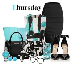 """Thrusday"" by misshonee ❤ liked on Polyvore"
