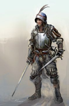 soldier character, Piotr Chrzanowski on ArtStation at https://www.artstation.com/artwork/JzL2d