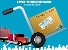#Affordable #Moving To #India Service from USA : #Sky2c Freights Systems Inc.
