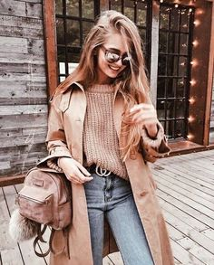 Winter fashion warm outfit ideas for women