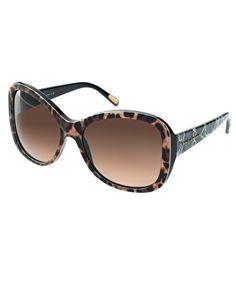 Leopard print sunglasses by Dolce & Gabbana