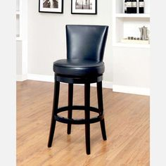 """Boston Bar Stool 26"""" Black now featured on Fab."""