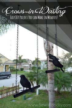 Crows-in-Waiting