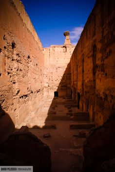 """Halved"" Marrakesh, Morroco"