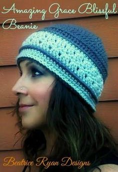 Amazing Grace Blissful Beanie http://www.ravelry.com/patterns/library/amazing-grace-blissful-beanie