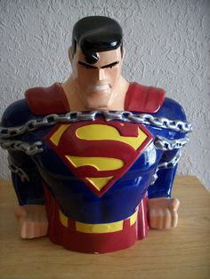 1997 Warner Bros. DC Comics Superman Cookie Jar - Other
