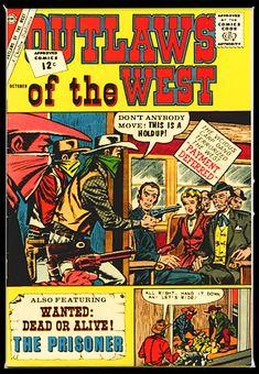 Charlton Comics, Cover, Silver Age, Prisoner, Gun, Books, Libros, Book, Firearms