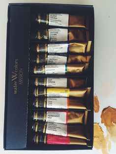 A guide to supplies for the watercolor artist.