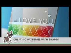 Creating patterns with shapes! Simon Says Stamp Blog