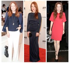 Four-time Oscar nominee and modern day style muse. We're sharing our favorite looks from Julianne Moore. Shop her style. Julianne Moore, Celebs, Celebrities, Woman Crush, Her Style, Personal Style, Crushes, Celebrity Style, Dresses For Work