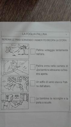 Descrizione della foglia- Novembre - Maestra Anita Italian Lessons, Italian Language, Thing 1, Education, Homeschooling, Halloween, Geography, Alphabet, Writing Exercises