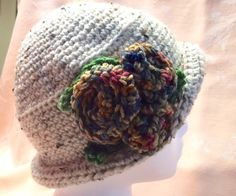 A personal favorite from my Etsy shop https://www.etsy.com/listing/512804539/womens-crocheted-flapper-style-hat-with