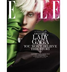 Inside Lady Gaga's Elle Cover