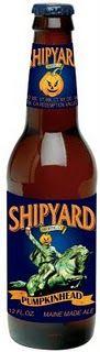 Shipyard Pumpkinhead. My favorite seasonal...and you can't get it in Texas.