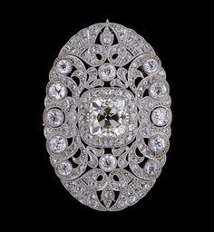 Art Deco | Art Deco Diamond Brooch - Jewelry Photo (25648235) - Fanpop fanclubs