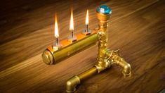 DIY Steampunk Industrial Pipe Oil Lamp