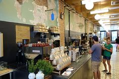 Blue Bottle Coffee | All Good Things | Franklin St | TriBeCa