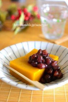 「かぼちゃの水ようかん」かあちゃん | お菓子・パンのレシピや作り方【corecle*コレクル】