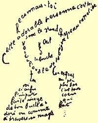 Calligramme - utiliser des mots pour former un dessin  Ajouté par Sophie