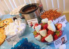 Comidas para servir na festa Frozen