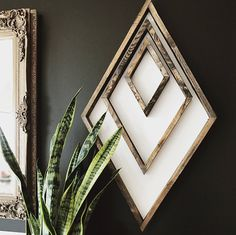 white wood backing with stained wood frames - 31 x 18 across - sawtooth hanger art diy art easy art ideas art painted art projects Wooden Wall Art, Wooden Walls, Wooden Frames, Scrap Wood Art, Reclaimed Wood Wall Art, Frames On Wall, Framed Wall Art, Wall Art Boho, White Framed Art