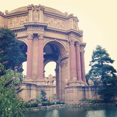Palace of Fine Arts in San Francisco, CA