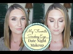 My Favorite Smokey Eye|Date Night Makeup Tutorial - YouTube  Soft Smokey Eye that's perfect for a date night or special occassion! Shadows used: Makeup Geek Eyeshadows in Shima Shimma, Creme Brulee, Frappe, Latte, & Mocha, Maybelline Colo Tattoo in Creamy Beige