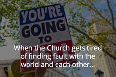 When The Church... | Don't Stay Broken~~~ Click through to see it all!