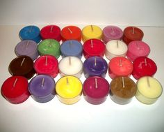 24 Tea Lights One of Every Scent I Offer plus 2 by CosmicCauldron, $15.99