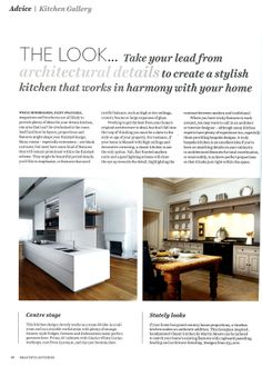 Georgian-inspired handpainted Classic kitchen by Martin Moore martinmoore.com Beautiful Kitchens May 2014