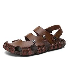Dekesen Men's Casual Genuine Leather Sandal 10M DEKESEN…